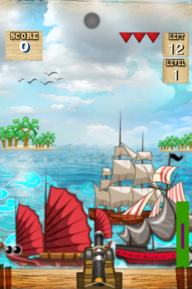 Screenshot iPirate Cannon Lite